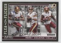 Jordan Reed, Kirk Cousins, Robert Kelley #/199