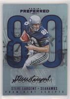Prominent Scripts - Steve Largent #/10