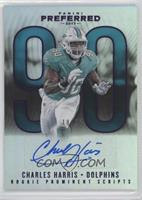 Rookie Prominent Scripts - Charles Harris #/25