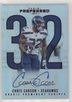 Rookie Prominent Scripts - Chris Carson /199