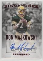 Preferred Signatures - Don Majkowski #/25