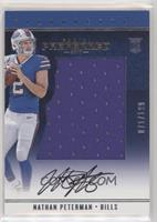 Rookie Silhouettes - Nathan Peterman #/199