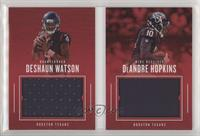 Deshaun Watson, DeAndre Hopkins [Noted] #/199