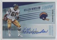 Kellen Winslow #/25