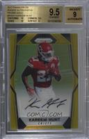 Kareem Hunt /10 [BGS 9.5 GEM MINT]