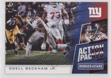 2017 Panini Rookies & Stars - Action Packed #12 - Odell Beckham Jr.