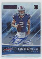 Rookies - Nathan Peterman #/99