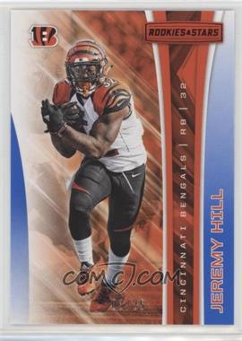 2017 Panini Rookies & Stars - [Base] - Red and Blue #90 - Jeremy Hill /25