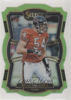 Premier Level Die-Cut - Brian Urlacher #/49