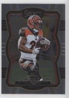 Premier Level - Joe Mixon (Uncorrected Error: Prizm on Back)