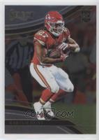 Field Level - Kareem Hunt (Uncorrected Error: Prizm on Back)