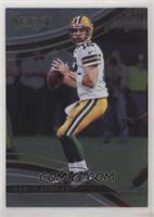 Field Level - Aaron Rodgers (Uncorrected Error: Prizm on Back)