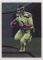 Field Level - Russell Wilson (Uncorrected Error: Prizm on Back)