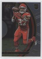 Concourse - Kareem Hunt (Uncorrected Error: Prizm on Back)