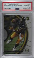 Concourse - JuJu Smith-Schuster (Uncorrected Error: Prizm on Back) [PSA 10…