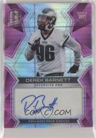 Rookie Autographs - Derek Barnett #7/15