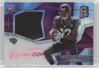 Rookie Patch Autographs - Dede Westbrook /15