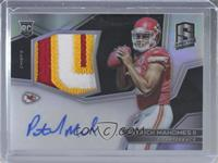 Rookie Patch Autographs - Patrick Mahomes II [EX to NM] #/99
