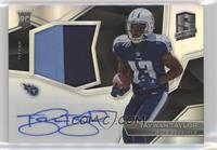 Rookie Patch Autographs - Taywan Taylor #/99