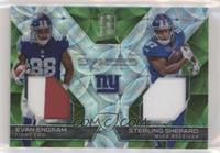 Evan Engram, Sterling Shepard /15