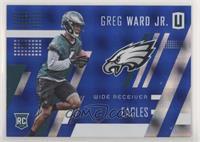 Rookies - Greg Ward Jr. #/15