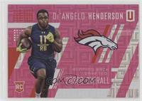 Rookies - De'Angelo Henderson #/299