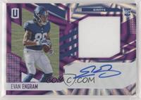 RPS Rookie Jersey Autographs - Evan Engram /49