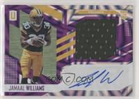 RPS Rookie Jersey Autographs - Jamaal Williams #/49