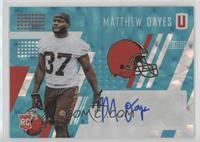 Matthew Dayes #/25