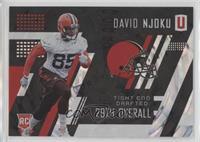 Rookies - David Njoku