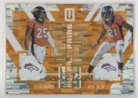 Aqib Talib, Chris Harris #/25