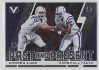 Andrew Luck, Marshall Faulk