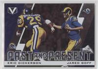 Jared Goff, Eric Dickerson