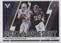 J.J. Watt, Peyton Manning