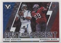 Cam Newton, Warren Sapp [Noted]