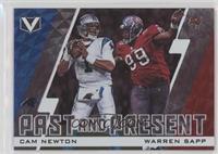 Cam Newton, Warren Sapp