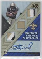 Rookie Triple Swatch Autographs - Alvin Kamara #/49