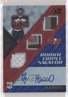 Rookie Triple Swatch Autographs - O.J. Howard #/49