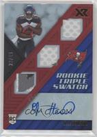 Rookie Triple Swatch Autographs - O.J. Howard /49