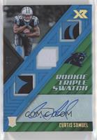 Rookie Triple Swatch Autographs - Curtis Samuel /3