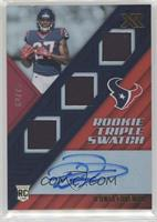 Rookie Triple Swatch Autographs - D'Onta Foreman #62/75