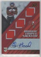 Rookie Triple Swatch Autographs - O.J. Howard #/75