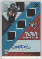Rookie Triple Swatch Autographs - Dede Westbrook #/75
