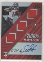 Rookie Triple Swatch Autographs - Chris Godwin #10/75