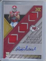 Rookie Triple Swatch Autographs - Patrick Mahomes II #/25
