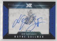 Wayne Gallman #/49