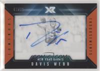 Davis Webb [Noted] #/25