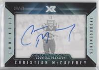 Christian McCaffrey [EXtoNM] #/49