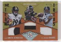 JuJu Smith-Schuster, Antonio Brown, R. Joshua Dobbs /25