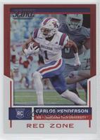 Rookies - Carlos Henderson /20